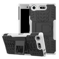 Outdoor odolný obal na mobil Sony Xperia XZ1 Compact - biely