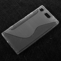 S-line gélový obal na Sony Xperia XZ1 Compact - transparentný