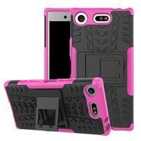Outdoor odolný obal na mobil Sony Xperia XZ1 Compact - rose