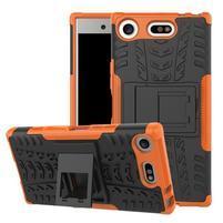Outdoor odolný obal na mobil Sony Xperia XZ1 Compact - oranžový