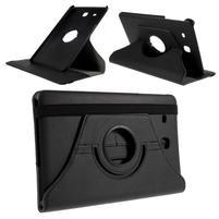 Circ PU kožené puzdro pre Samsung Galaxy Tab E 9.6 - čierne