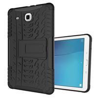 Outdoor odolný obal pre Samsung Galaxy Tab E 9.6 - čierny