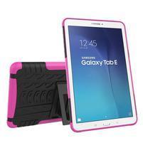 Outdoor odolný obal pre Samsung Galaxy Tab E 9.6 - rose