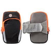 Zippy univerzálna športová taštička na ruku pre telefóny do rozmeru 157 x 77 mm - čierna