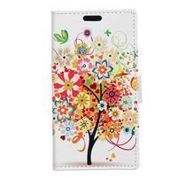 Emotive peňaženkové puzdro na mobil Vodafone Smart E8 - jesenný strom