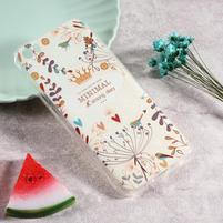 Softy gelový obal s potiskem na Xiaomi Mi 5 - floral