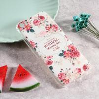 Softy gelový obal s potiskem na Xiaomi Mi 5 - kvety