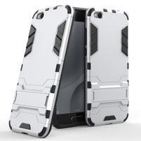Defender odolný obal pre mobil Xiaomi Mi 5c - strieborný