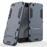 Defender odolný obal pre mobil Xiaomi Mi 5c - šedomodrý
