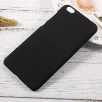 Rubber pogumovaný plastový obal pre Xiaomi Mi 5c - čierný