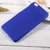 Rubber pogumovaný plastový obal pre Xiaomi Mi 5c - modrý