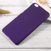 Rubber pogumovaný plastový obal pre Xiaomi Mi 5c - fialový