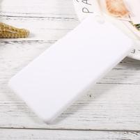Rubber pogumovaný plastový obal pre Xiaomi Mi 5c - bielý