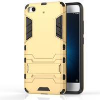 Defender odolný obal pre mobil Xiaomi Mi5s - zlatý