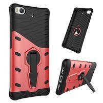 Armory odolný obal 2v1 pre mobil Xiaomi Mi5s - červený