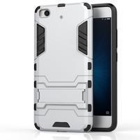 Defender odolný obal pre mobil Xiaomi Mi5s - strieborny
