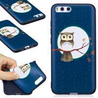 Emotive gélový obal pre mobil Xiaomi Mi 6 - mesační sova