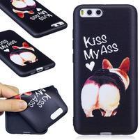 Emotive gélový obal pre mobil Xiaomi Mi 6 - kiss
