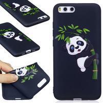 Emotive gélový obal pre mobil Xiaomi Mi 6 - bambus panda
