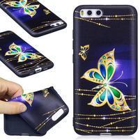 Emotive gélový obal pre mobil Xiaomi Mi 6 - kouzelný motýľ