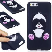 Emotive gélový obal pre mobil Xiaomi Mi 6 - panda