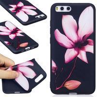 Emotive gélový obal pre mobil Xiaomi Mi 6 - kvet