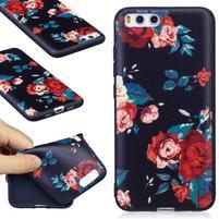 Emotive gélový obal pre mobil Xiaomi Mi 6 - ruže