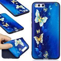 Emotive gélový obal pre mobil Xiaomi Mi 6 - motýľci