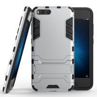 Defender odolný obal pre mobil Xiaomi Mi 6 - strieborný