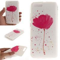 Funs gélový obal pre mobil Xiaomi Mi 6 - kvet