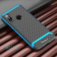 IPAK odolný obal z kombinácie gélu a plastu na Xiaomi Mi 8 - modrý