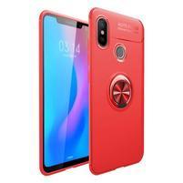 Ring gélový obal na mobil Xiaomi Mi 8 - červený