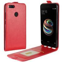 Flipové puzdro na mobil Xiaomi Mi A1 - červené