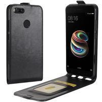 Flipové puzdro na mobil Xiaomi Mi A1 - čierne