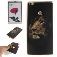 Softies gélový obal pre mobil Xiaomi Mi Max - král zvierat