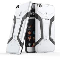 Kick Hybridný odolný obal na Xiaomi Mi Max 2 - strieborný