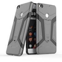 Kick Hybridný odolný obal na Xiaomi Mi Max 2 - sivý