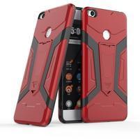 Kick Hybridný odolný obal na Xiaomi Mi Max 2 - červený