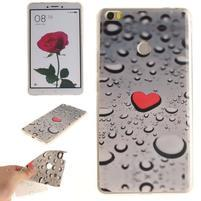 Softies gélový obal pre mobil Xiaomi Mi Max - srdce