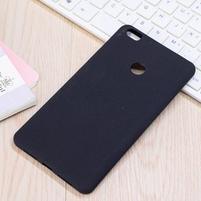 Texture pružný obal pre Xiaomi Mi Max - čierný