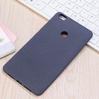 Texture pružný obal pre Xiaomi Mi Max - šedý