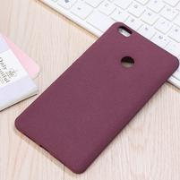 Texture pružný obal pre Xiaomi Mi Max - fialový