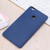 Texture pružný obal pre Xiaomi Mi Max - modrý