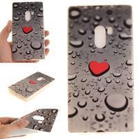 Emotive gélový obal pre mobil Xiaomi Mi Mix - srdce