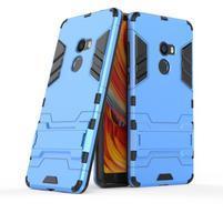 Defender odolný obal so stojančekom na Xiaomi Mi Mix 2 - modrý