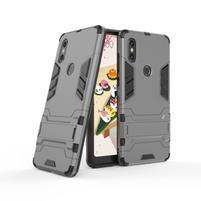 Guard odolný hybridný obal na mobil Xiaomi Mi Mix 2s - sivý