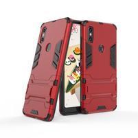 Guard odolný hybridný obal na mobil Xiaomi Mi Mix 2s - červený