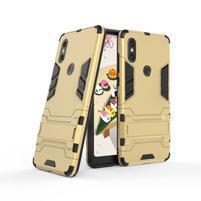 Guard odolný hybridný obal na mobil Xiaomi Mi Mix 2s - zlatý