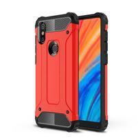 Armor hybridný odolný kryt na Xiaomi Mi Mix 2s - červený