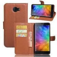 Grianes PU kožené puzdro pre mobil Xiaomi Mi Note 2 -
